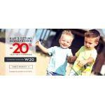 Coccodrillo: dodatkowe 20% rabatu przy zakupie 3 sztuk odzieży dla dziecka