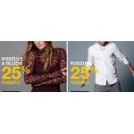 Cubus: 25% zniżki na wszystkie koszule damskie i męskie oraz bluzki