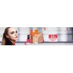 Drogerie Natura: 35% rabatu na wszystkie kosmetyki marki Rimmel