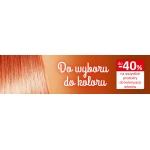 Drogerie Natura: do 40% zniżki na wszystkie produkty do koloryzacji włosów