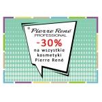 Drogerie Natura: 30% rabatu na wszystkie kosmetyki marki Pierre Rene