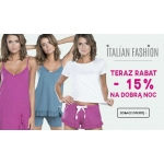 E-Lady.pl: 15% rabatu na piżamy marki Italian Fashion