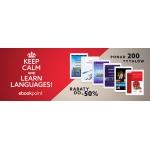 Ebookpoint: do 50% zniżki na ebooki do nauki języka