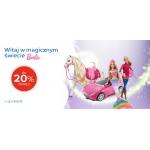 EMag: do 20% zniżki na zabawki marki Barbie