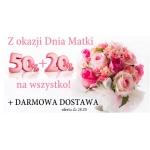 English Home: 50% + 20% zniżki na wszystkie produkty z okazji Dnia Matki