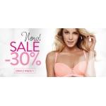 Esotiq: wyprzedaż 30% rabatu na bieliznę damską i męską  i kosmetyki