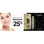 Ezebra: Walentynkowa promocja 25% zniżki na eye kit L'Oreal Paris