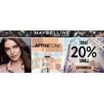 Ezebra: 20% zniżki na kosmetyki marki Maybelline New York