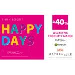 Hebe: do 40% zniżki na wszystkie produkty marek L'oreal, Garnier, Mixa i Maybelline
