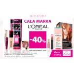 Hebe: do 40% rabatu na całą markę kosmetyków Loreal