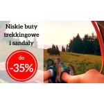 HiMountain: do 35% rabatu na niskie buty trekkingowe i sandały