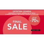 Orsay: wyprzedaż do 70% rabatu odzież damską