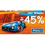 Smyk: 45% rabatu na zabawki i ubrania Hot Wheels