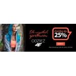Astratex: do 25% rabatu na produkty marki 4f