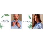 James Button: 30% rabatu na kolekcję odzieży damskiej i męskiej
