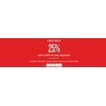 KappAhl: dodatkowe 25% zniżki na cały asortyment z wyprzedaży