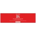 KappAhl: 20% extra zniżki na całą wyprzedaż