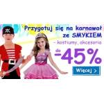 Smyk: do 45% zniżki na kostiumy karnawałowe