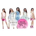 Kartes Moda: do 70% zniżki na odzież damską