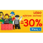 Smyk: do 30% zniżki na wybrane zestawy klocków LEGO