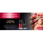 Eveline Cosmetics: 20% zniżki na wszystkie kosmetyki do makijażu paznokci