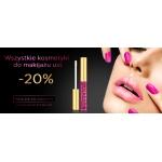 Eveline Cosmetics: 20% zniżki na kosmetyki do makijażu ust