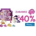 Smyk: do 40% zniżki na zabawki My Little Ponny