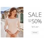 Molton: wyprzedaż do 50% rabatu na odzież damską  z kolekcji W/L 2017