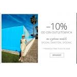 Molton: dodatkowe 10% zniżki od cen outletowych na wybrane modele spodni, żakietów i spódnic