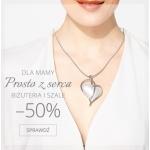 Molton: 50% zniżki na biżuterię i szale z okazji Dnia Matki