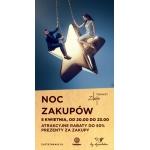 Noc Zakupów w Warszawie w Złotych Tarasach 5 kwietnia 2014