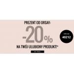 Orsay: 20% zniżki na odzież damską i dodatki