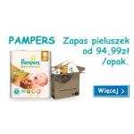 Smyk: zapas pieluszek Pampers od 94,99 zł