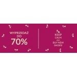 Pantofelek24: wyprzedaż do 70% rabatu na obuwie damskie oraz męskie