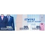 Pawo: marynarki za 299 zł, spodnie za 99 zł, koszule za 89 zł