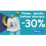 Smyk: 30% rabatu na piżamy, śpiochy i bieliznę dziecięcą