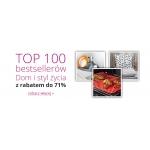 Ravelo: do 71% zniżki na top 100 bestsellerów z kategorii dom i styl życia