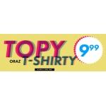 Sinsay: topy i t-shirty za 9,99 zł