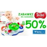 Smyk: do 50% zniżki na zabawki SMIKI dla niemowlaka