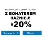 Smyk: do 20% rabatu na nową kolekcję ubrań i butów