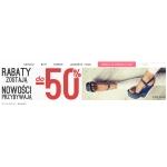 Stylowe Buty: 50% zniżki na damskie obuwie, botki, kozaki, sandały