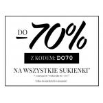 Tiffi: wyprzedaż do 70% zniżki na wszystkie sukienki