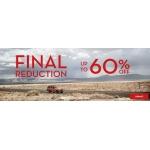 Timberland: wyprzedaż do 60% rabatu na odzież  i obuwie