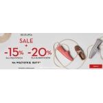 Timberland: wyprzedaż 15% zniżki na wszystkie buty oraz dodatkowy rabat nawet do 20% zniżki
