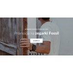 Time & More: do 10% rabatu na zegarki Fossil