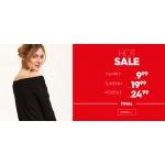 Top Secret: t-shirty od 9,99 zł, sukienki od 19,99 zł i koszule od 24,99 zł