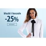 TXM24: 25% zniżki na bluzki i koszule