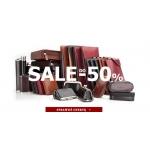Vip Collection: wyprzedaż do 50% zniżki na galanterię skórzaną, walizki, aktówki