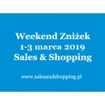 Weekend Zniżek z Sales & Shopping w dniach 1-3 marca 2019