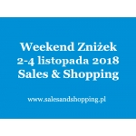 Halloweenowy Weekend Zniżek z Sales & Shopping w dniach 2-4 listopada 2018